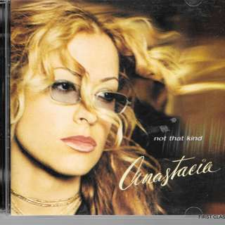 MY PRELOVED CD - ANASTACIA - NOT THAT KIND -FREE  DELIVERY (F3X)