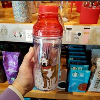Starbucks Tumbler year of the dog - colour changing