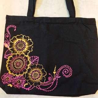 手繪 tote bag
