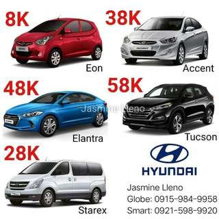 Brand New Hyundai Car 8K All in DP!