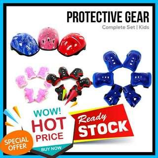 🔥RS🔥Kids Protective Gear Knee Pad Roller Skate Helmet