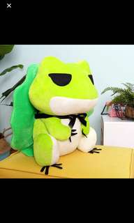 TRAVEL FROG 🐸 SOFT TOY