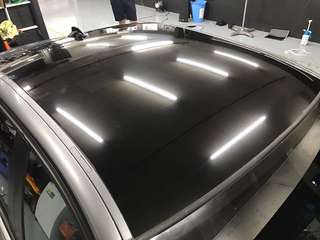 Bmw roof wrapping service
