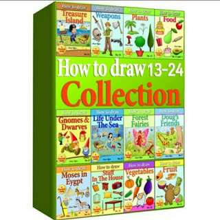 eBook How to Draw 13 - 24