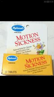 Homeopathic(Herbal) Motion Sickness Natural Relief