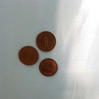 1 Cent Coin