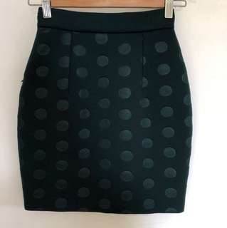 Stella McCartney pokka dot skirt (S)