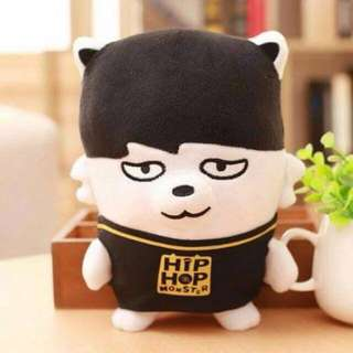 [READY STOCK] BTS Jimin Park HipHop Hip Hop Monster Hiphopmon Plush / Plushie / Doll / Toy