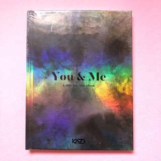 KARD ~ 2nd MINI ALBUM : YOU & ME / Free Poster