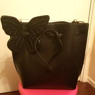 Sophia Webster black Remi Butterfly bag