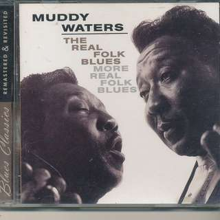 Muddy Waters - The Real Folk Blues / More Real Folk Blues (AUDIO CD) [x7]