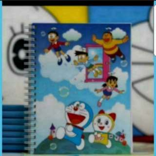 In Stock Doraemon And Friends Design Notebook 13.5 × 18cm