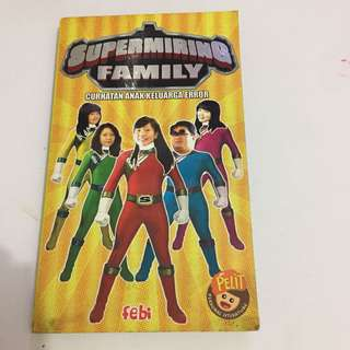Novel nonfiksi supermiring family