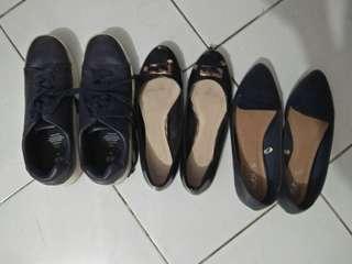 Bundling H&M sneakers size 40, vincci size 39, rubi size 39