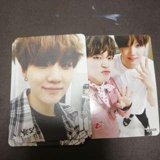 BTS SUGA yes card
