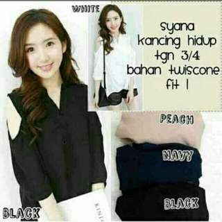 Syana Bahan twiscone fit to L
