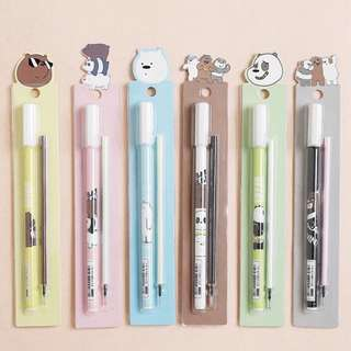 We Bare Bear Pen with Refill