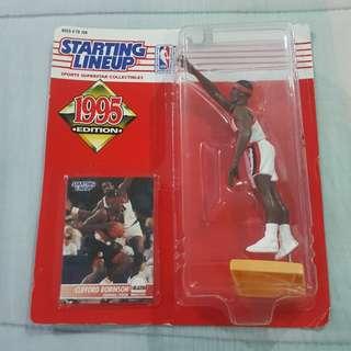 "Legit Brand New Sealed NBA Kenner Starting Lineup 6"" Clifford Robinson Portland Trailblazers Toy Figure"