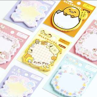 Sanrio/San x character 30 pcs Post it