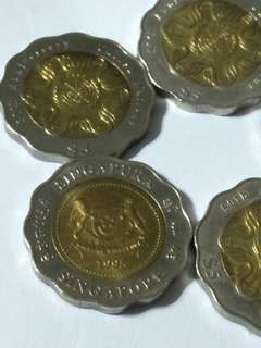 Sg old coin  5pc x $13
