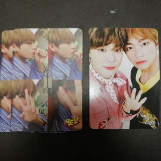 BTS V yes card