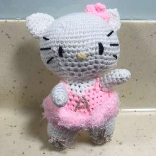 Crochet Hello Kitty Ballerina