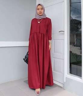 VGC - 0218 - Dress Busana Muslim Alara