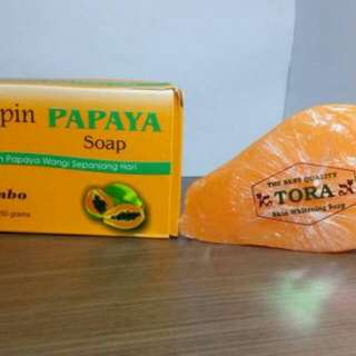 PAPAYA SOAP PHILIPIN / SABUN PEPAYA PHILIPINE 135 GRAM ORIGINAL BPOM