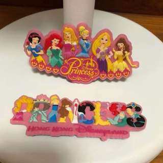 Disney princess magnet (2 for $8)