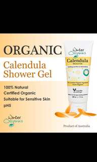 [BN] 100% Natural and Certified Organic , Calendula Shower Gel 200ml