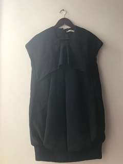 excellent condition AUTHENTIC PRADA ruffled dress - 40 - fits m to small L