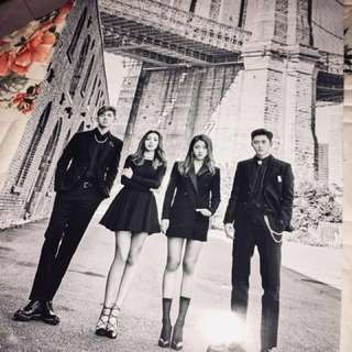 [READYSTOCK] KARD YOU & ME OFFICIAL POSTER