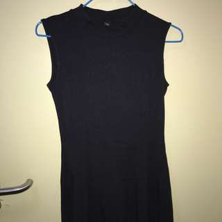 UNIQLO Navy Skater Dress