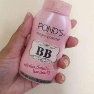 BEDAK BB / PONDS / PINK MAGIC POWDER ORIGINAL THAILAND