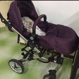 Capella Laon Stroller(purple)