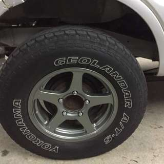 4x4 Rims and tyres Ori Japan