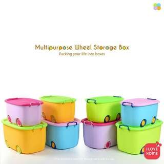 Wheel Storage Box Toy Storage