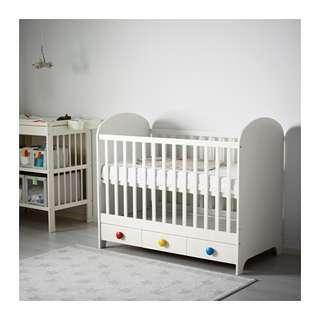 Ikea Gonatt Baby Cot
