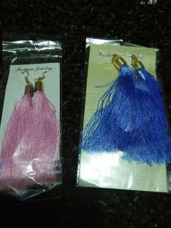 Fashion tassel earings