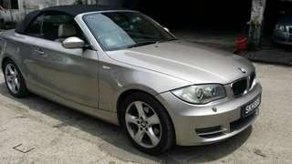 BMW 120i cabriolet SG