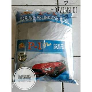 CAR COVER P1 PLUS RUSH/TERIOS/PANTHER/MOBILIO/LIVINA/KIJANG