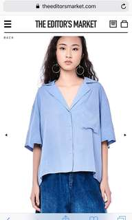 The Editor's Market Anderia Oversized shirt