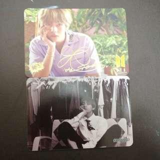BTS V yes card