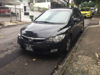 Honda Civic FD 2.0 auto all black 2008 SG