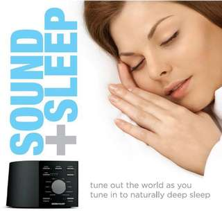 Adaptive Sound Technologies Sound+Sleep High Fidelity Sleep Sound Machine with Real Non-Looping Nature Sounds, Fan Sounds, White Noise, and Adaptive Sound Technology