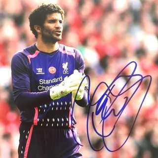 Football Autograph - David James (Liverpool)