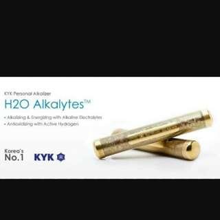 H2O ALKALYTES™ BAR - KYK Personal Alkalizer