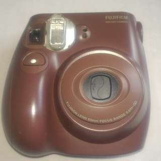 Kamera Fuji Intax Mini 7S Brown