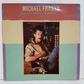Michael Franks - Passion Fruit Vinyl Record