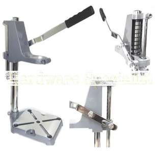 Brand New Table Drill Stand / Portable / Handy / Lightweight - dangerous as no depth stopper and gauge meter